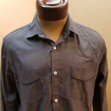 American Rag Slim Fit Long Sleeve Button Up Shirt Size M