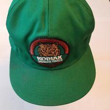 Kodiak Hat Vintage trucker snapback K Products Made Usa Green smokeless tobacco