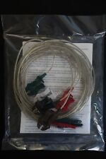 """Covidien Kendall Lead Wires D-41505 Din/Pinch 40"""" Ref 31246732A Pack of 5, ECG"""