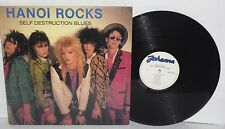HANOI ROCKS Self Destruction Blues LP 1982 Finnish Press Johanna Glam Metal