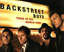BACKSTREET BOYS 2010 THIS IS US WORLD TOUR CONCERT PROGRAM BOOK / NMT 2 MINT