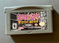 Scooby-Doo Mystery Mayhem (Nintendo Game Boy Advance, 2003)very Clean Tested!