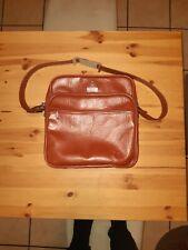Vintage Samsonite Leather Carry On Shoulder Bag