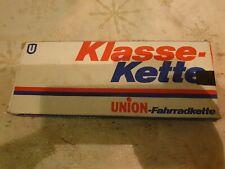 """Oldtimer Klasse Kette Union, neu, mit Original Karton, 740  1/2×1/8""""112"""