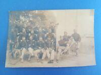 CPA - PHOTO WW1 14-18 - Groupe de soldats - Grandes manoeuvres 1912