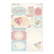 Papermania vintage notes A4 Die-Cut decorazioni per & striscioni Craft sheet-icone