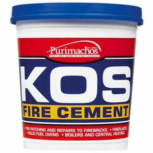 Fire Cement Stoves Log Burner Flues Pipe Filler Chimneys Oven Boilers Walls