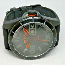 Mens Hugo Boss Black & Orange Dial Watch HB.240.1.34.2947