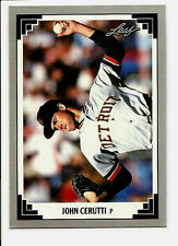 John Cerutti Detroit Tigers 1991 Leaf Baseball Card #270 NM/MT