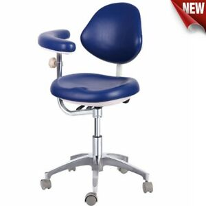 Dental Stool Dentist Doctor's Assistant Stool Medical Surgery Chair With Armrest
