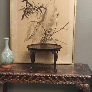 Antique Wooden Joseon Dynasty Soban Table