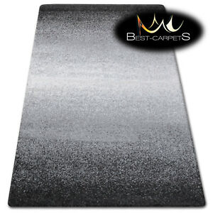 Thick Quality 20mm Modern Design Densely very Soft Rugs SHADOW 8621 white black