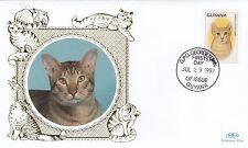 (81165) Guyana Benham FDC Cats - 29 July 1997