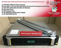 HPE MSA 2050 28.8TB SAS (24x 1.2TB) 2x 6GB SAS MSA IO Module SFF Array - Q1J29A