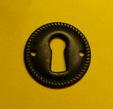 Furniture Hardware Key Hole Escutcheon Keyhole Plate Windover Antique Round