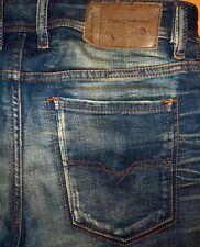 ORIGINAL DIESEL SLEENKER 0842P SLIM SKINNY USED-JEANS BLUE W 31 L 32/34 TEPPHAR