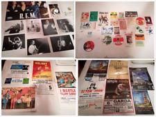 U2PINK FLOYDBEATLES manifesti, biglietti, foto pezzi unici