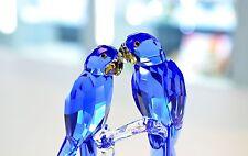 Swarovski 2014 SCS Hyacinth Macaws Blue Bird Signed 5004730 Brand New In Box