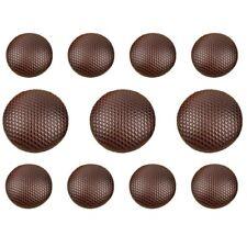 11Pcs Brown Shank Buttons Set for Suit Jackets, Blazer or Sport Coat