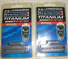 2 Remington Titanium Smart System Replacement Screens SP-95