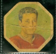 Jean Gauthier 1961-62 York Peanut Butter Yellow Backs '61 Card #42 P Montreal