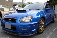 Subaru Impreza WRX STI 03-05 V-Limited Front Bumper Lip PU Spoiler.