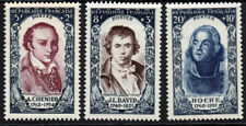 France Part Set c1950 Three Stamps Mounted Mint (3943)