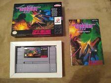 Gradius III 3 Konami Super Nintendo SNES Complete in Box Tested Authentic