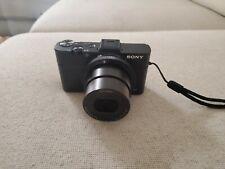 Sony Cyber-shot DSC-RX100 II 20.2MP Digital Camera - Black with case