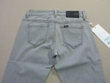 087 WOMENS NWT LEE RIDERS 'BUMSTER VEGAS' GREY WASH STRETCH JEANS 8 $100 RRP.