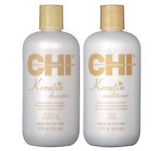 Chi Keratin Hair Shampoo and Conditioner Moisturising Dry Hair Treatment 2x355ml
