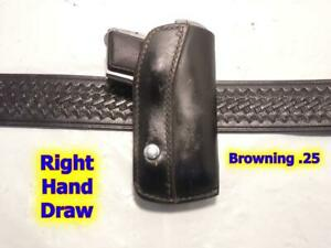 3326 25A HUNTER Crossdraw Holster for BROWNING 25 Auto RAVEN BERETTA Tomcat .32