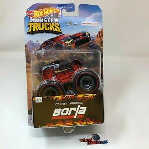 Chevy Camaro Borla Redlines * 2020 Hot Wheels Monster Trucks