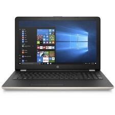"HP 15-bw550sa 15.6"" Windows 10 Laptop AMD A6, 12GB RAM, 1TB HDD - Gold"