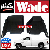 Westin Wade Sure-Fit Custom Molded 2012-18 Ram 2500/3500 Regular Cab Floor Mats