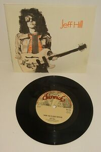 """JEFF HILL I WANT YOU TO DANCE WITH ME 1977 CHISWICK 7"""" UK 1st PRESS. P/S"""