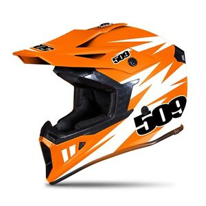 509 TACTICAL ORANGE Motorcycle/Snowmobile  HELMET - XL  - NEW - DOT / ECE
