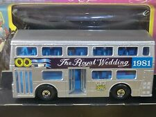 "MATCHBOX SUPER KINGS MODEL No.K-15 LONDONER BUS "" ROYAL WEDDING 1981 ""    VN MIB"
