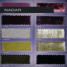 Nadar - Silk Velvet Fabric Home Decor Fabric by the Yard