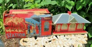 Marx Litho #2960 Girard Whistling Train Station Controller Switch #1605 Org. Box