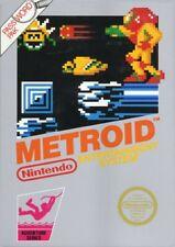 Nintendo NES Spiel - Metroid PAL-B mit OVP sehr guter Zustand