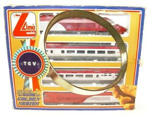 Lima HO French SNCF Dutch NS 4-Piece HIGH SPEED THALYS 1Train Set Used Boxed`95!