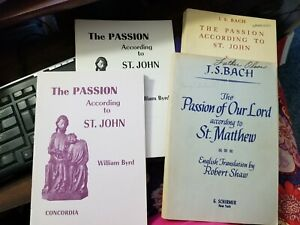 The Passion: 4 Books By Byrd And Bach