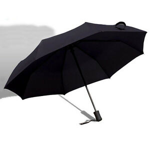 Auto Open and Close Compact Folding Windproof Umbrella easy handle for women men