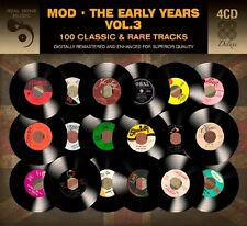 Mod THE EARLY YEARS VOL 3 Various Artists 71 CLASSIC & RARE SONGS Best NEW 4 CD