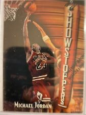 1997-98 Topps Finest Michael Jordan Showstoppers Refractor with Coating 271 S11