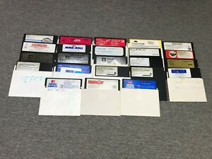Lot of 23 Software Games for Commodore 64 C64 Computer