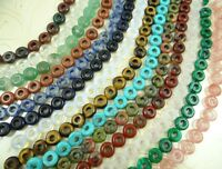 4*10mm Natural Drop shap Mix agate Jewelry Making loose GEM beads strand 20CM