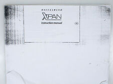 HASSELBLAD XPAN MANUAL ((XEROX COPY))