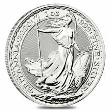 2020 Great Britain 1 oz Silver Britannia Coin .999 Fine BU - BACKORDER
